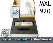 MXL 920 Large Capsule Condenser Microphone -  Brand New in Box
