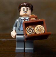 Lego Harry Potter & Fantastic Beast Minifigures -JACOB KOWALSKI- NEW