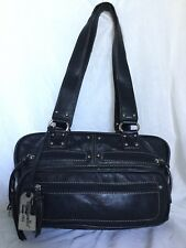 TIGNANELLO Black Leather Tote/Shoulder Bag / Handbag