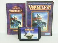 VERMILION Ref/ccc Mega Drive Sega Japan Game md