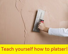 How To Plaster Training Learn Course Plastering Information CD with images