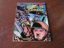 BD LES AVENTURES DE BUCK DANNY ATTAQUE EN BIRMANIE N°6  1976