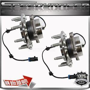 TWO CHEVY GMC SIERRA 1500 2500 3500 SUBURBAN YUKON H2 wheel hub bearing assembly