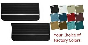 1965 Chevelle, El Camino Pre-Assembled Door Panel Set in Your Choice of  Colors
