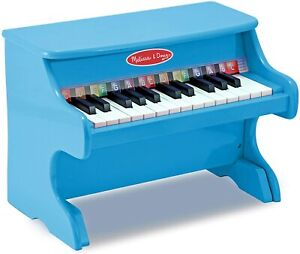 Melissa & Doug Learn-to-Play Piano, Blue