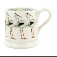 Emma Bridgewater Stork Half Pint Mug, Earthenware 1/2 Bird Discontinued