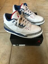 2016 Air Jordan 3 Retro True Blue OG Size-10