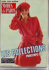Modes de Paris 1573 - mars 1979 -