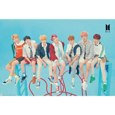 BTS Poster Blue 268 Official Licensed Product