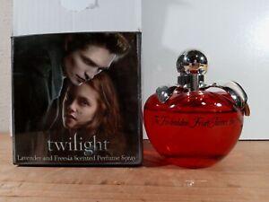 Twilight Movie Lavender and Freesia Scented Perfume Spray Forbidden Fruit 2.7 oz