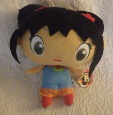 """Nickelodeon Ni Hao Kai Lan Plush Stuffed Animal Doll 7"""" Tall New Nwt"""