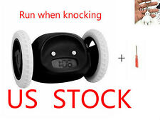 Runaway Alarm Clock on Wheels Cute Alarm Clock for Heavy Sleepers/Kids etc