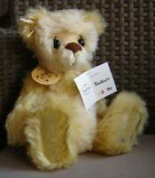 """Kaycee Bears Saturn mohair bear. Limited edition 12/50. Approx 13"""" tall."""