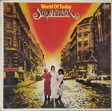 Supermax World of Today  - LP/Vinyl - DE 1977  - Atlantic ATL 50423