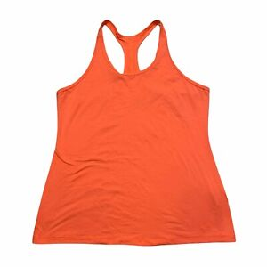 Nike Dri-Fit G87 Training Tank Top Racerback Slim Fit Orange Womens XL