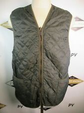E7634 VTG BARBOUR Full-Zip Quilted Vest Size 48