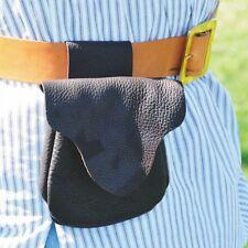 Belt Bag Possibles Shooters Leather Kits Black Powder Rendezvous Trapper