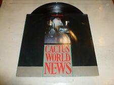 "CACTUS WORLD NEWS - Years Later - 1986 UK 3-track 12"" Vinyl Single"