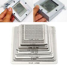 27Pcs Directly Heat BGA Reball Reballing Net Universal Stencils Template Set Kit