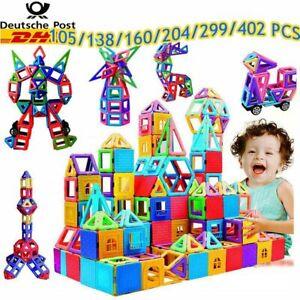 105-402PC Blocks Magnetic Building Kinder Spielzeug Magnetische Bausteine Blöcke
