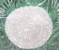 German Glass Glitter Medium 70 Grit Pearly White 1 Ounce