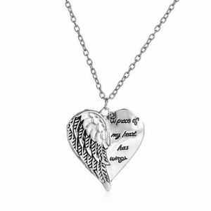 Elegant 925 Sterling Silver Charm Angel Wings New Women Fashion Jewelry Necklace
