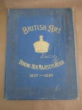 Book, British Art During Her Majesty's Reign, 1837–​1887, antique, rare