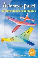 Paper planes: Book of the cutout. Expedited shipping (spain)