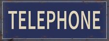 Metal English Pictorial Decorative Plaques & Signs