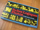 BOITE JEU EDUCATIF PEDAGOGIQUE NATHAN : SUITES LOGIQUES PHOTOS LANGAGE TEMPS