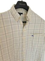 Mens chic LONDON by BURBERRY short sleeve shirt size large. RRP £175.