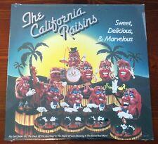 THE CALIFORNIA RAISINS - Sweet, Delicious & Marvelous 1988 Canadian LP SEALED!!