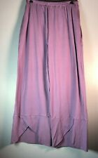 Cross Over Organic Cotton Pants  Lilac  by Blue Fish Red Moon Clothing