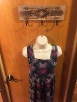 Kimchi Blue Sleeveless Dress Cute Casual Hippie Festival Women's 6 Small (E10)