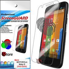 4 Film Matt For Motorola MOTO G - MOTOG Antiglare Anti-fingerprint Films