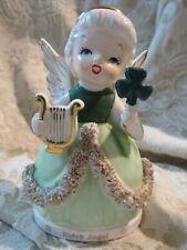 Vintage March Angel Fine Quality Japan Figurine~Excellent