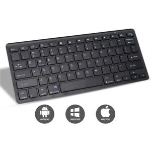 Black Wireless MINI Mouse and Keyboard Boxed Set for iMac Windows Sj