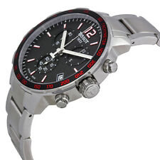Tissot T0954171105700 Quickster Chronograph Men's Black Dial Watch New in Box