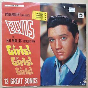 Elvis Presley | Girls,Girls,Girls | LPM2621 | 1962 Teldec Germany Vinyl | Mono