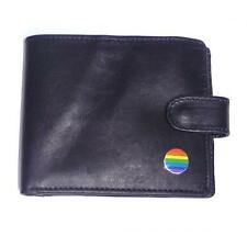 Gay Pride Rainbow Flag LGBT Bisexual Transgender Leather Wallet Present GIFT