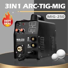 Mig Welder 200a 110v220v Gas Gasless Inverter Arc Lift Tig Mma Welding Machine
