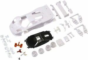 Kyosho McLaren F1 GTR White Body Set with Wheel Unpainted Body