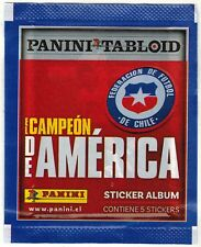 Chile 2019 Panini Tabloid Campeon America Soccer Sticker Pack