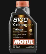 Motul 8100 X-Clean 1L 5W-40 Olio Sintetico - Nero (102786)