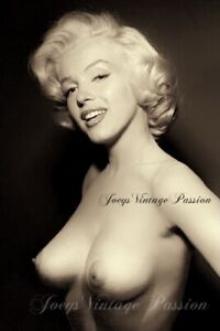 "Marilyn Monroe Pin Up Art Vintage Reprint Photo 4""x6"" Reprint Photograph M07"