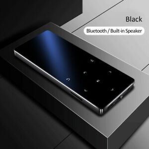 MP3 Player With 16GB Bluetooth HiFi Metal Touch Music Player Portable Walkman