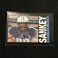 2014 TOPPS #326 BISHOP SANKEY *1985 BLACK AUTO #012/150*  TENNESSEE TITANS