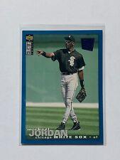 1995 Upper Deck Collector's Choice Michael Jordan #238 Blue Foil Baseball Card
