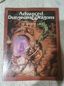 Advanced Dungeons And Dragons The Book Of Lairs  1986