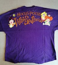 More details for hocus pocus villain halloween spirit jersey w/tag size large